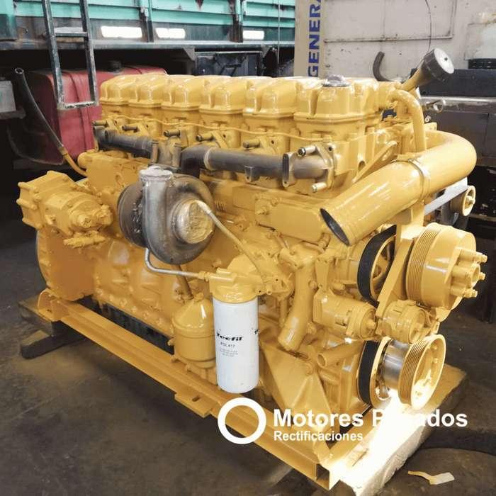Vendo Motor Scania K124 de 360 Hp. Rectificado con garantía
