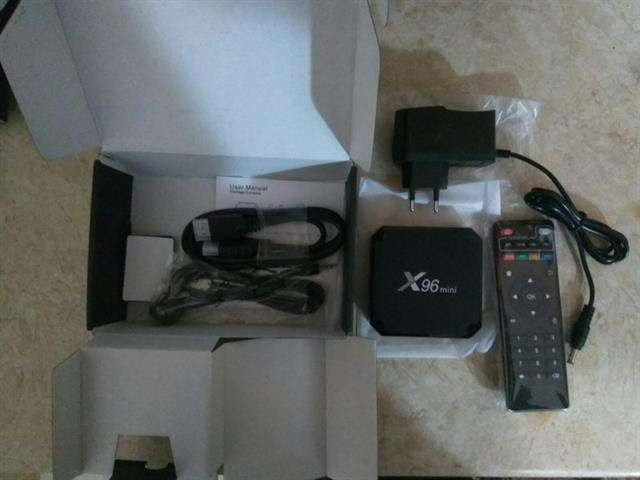 VENDO TV BOX ANDROID MINI X96 2GB DE RAM 16 GB MEMORIA INTERNA