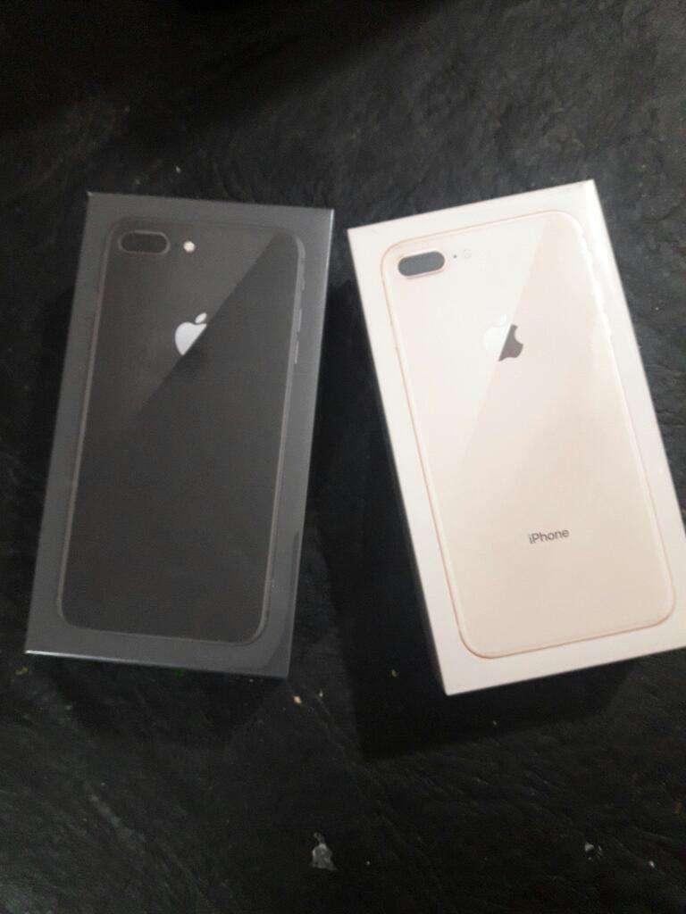 iPhone 8 Plus de 64gb Nuevos Libre en Caja Cerrada.