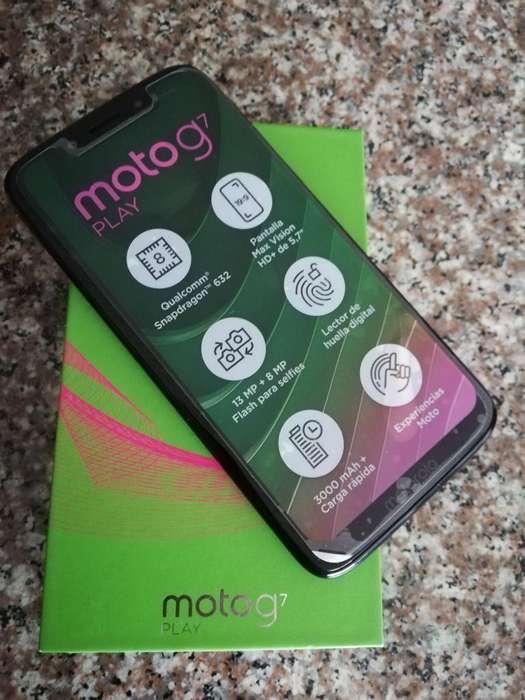 Moto G7 Play Como Nuevo
