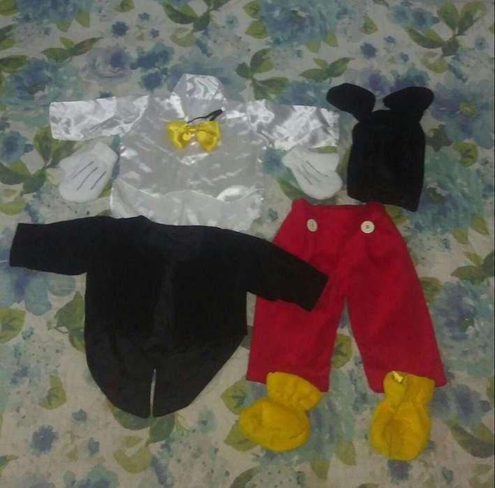Disfraz Mickey mouse niño
