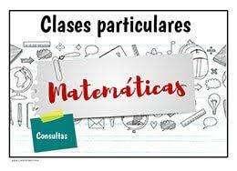 clases de matemática a domicilio