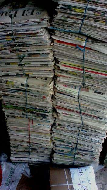 vendo papel periodico por kilo