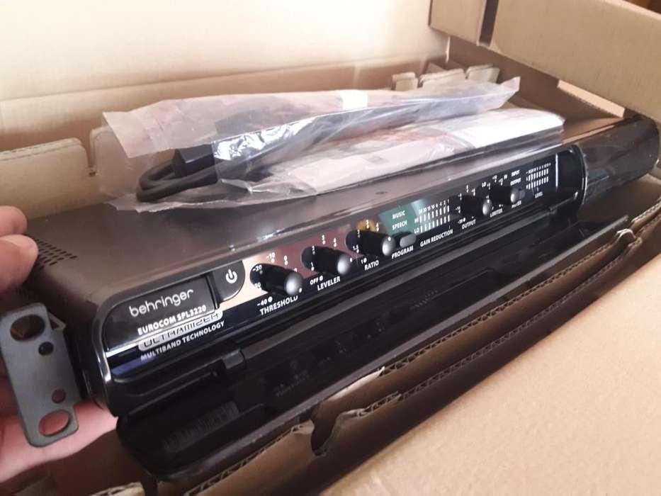 Driver Rack Behringer Multiband Ultramizer Spl3220