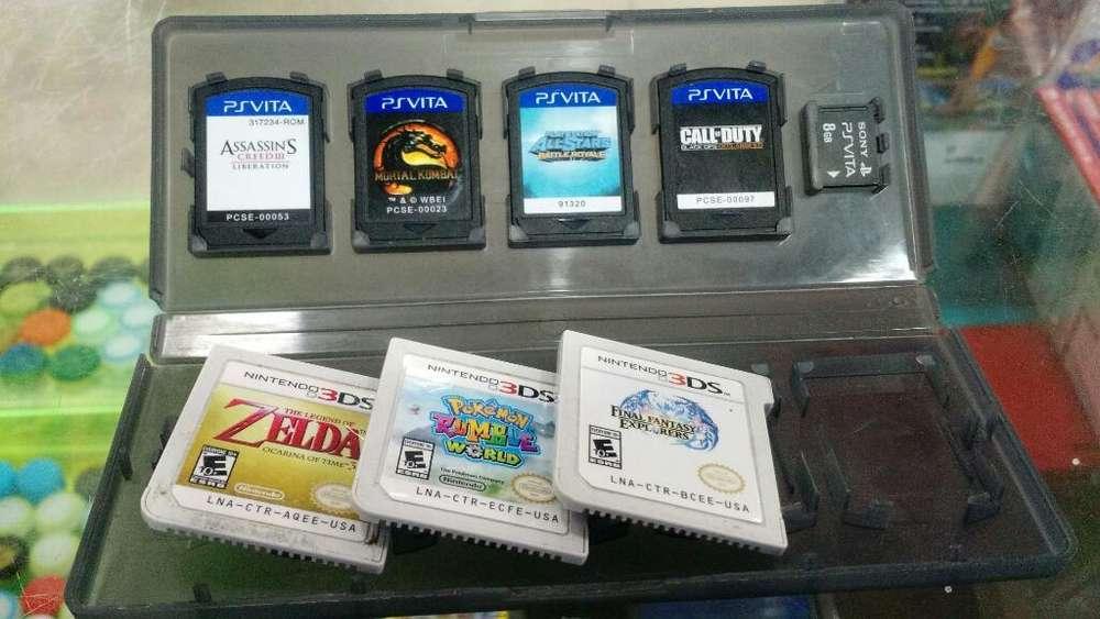Juegos Ps Vita Y 3ds Usados