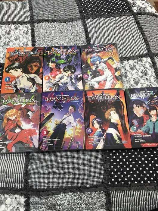 MANGA Neon Genesis Evangelion (1 a 7) IMPECABLES