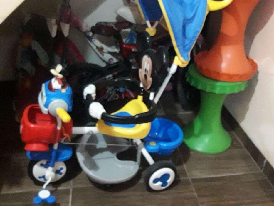 Triciclo Mickey Mouse para Niño.