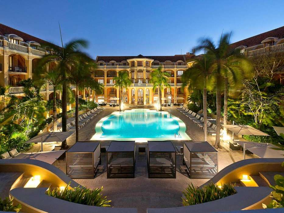 ¡EXCELENTES VACACIONES LUJO! **HOTEL SOFITEL SANTA CLARA** CARTAGENA COLOMBIA