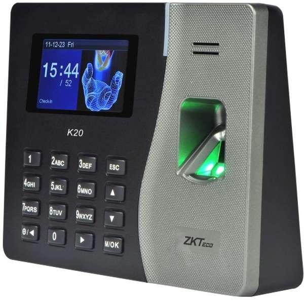 Reloj Control De Asistencia Biometrico Huella Zkteco K20