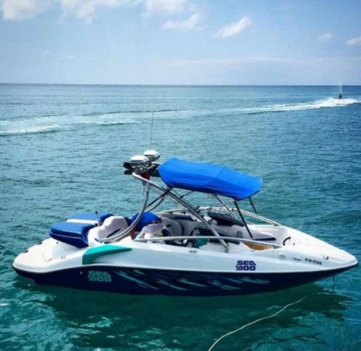 Bote Lancha Bombardier Sea Doo Challenge