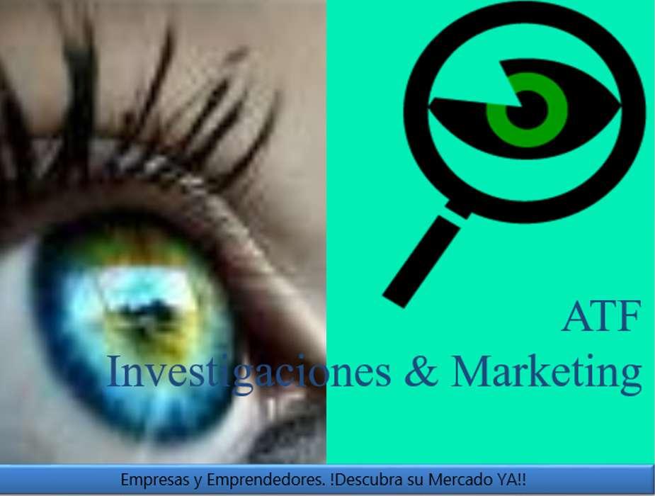 ATF Investigaciones Marketing. Estudios de mercado a la medida de las necesidades de cada cliente.