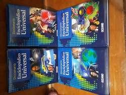 Colección  completa de LIBROS ESCOLARES OCEANO  CD's y DVD's