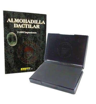 Huellero Almohadilla Dactilar Rectangular Ideal Aseguradoras