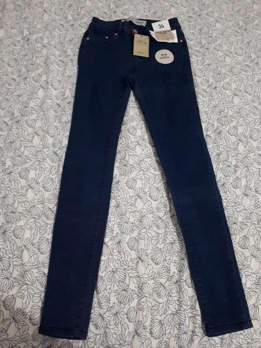 Pantalón Stretch Skinny Talla 28