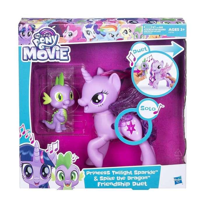 My Little Pony Princess Twilight Sparkle Spike El dúo de la amistad del dragón