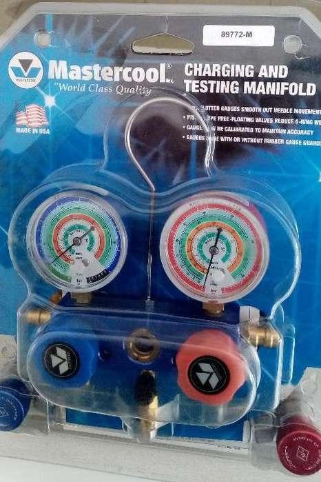 Herramienta de Refrigeración Automotriz Manómetro Mastercool