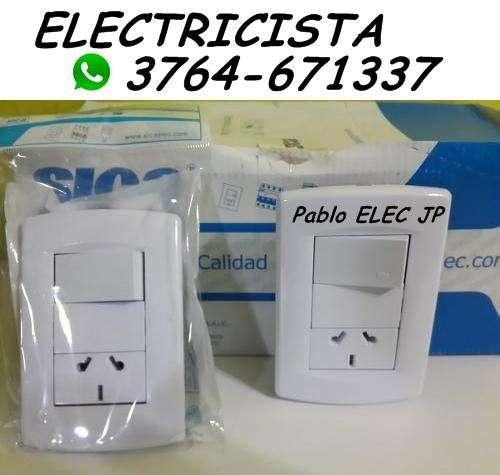 Electricista 3764-671337 a Domicilio!!