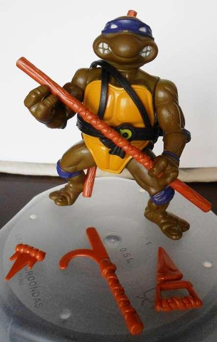 Donatello Tortuga Ninja Coleccionable Vintage 1988