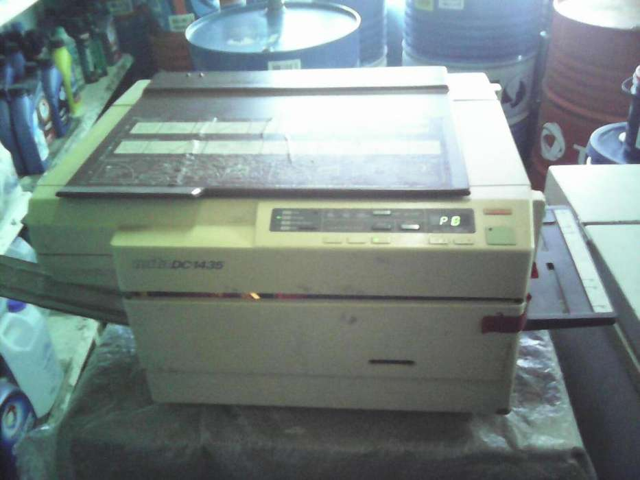 Vendo fotocopiadora mita1435 con cartucho de respuesto