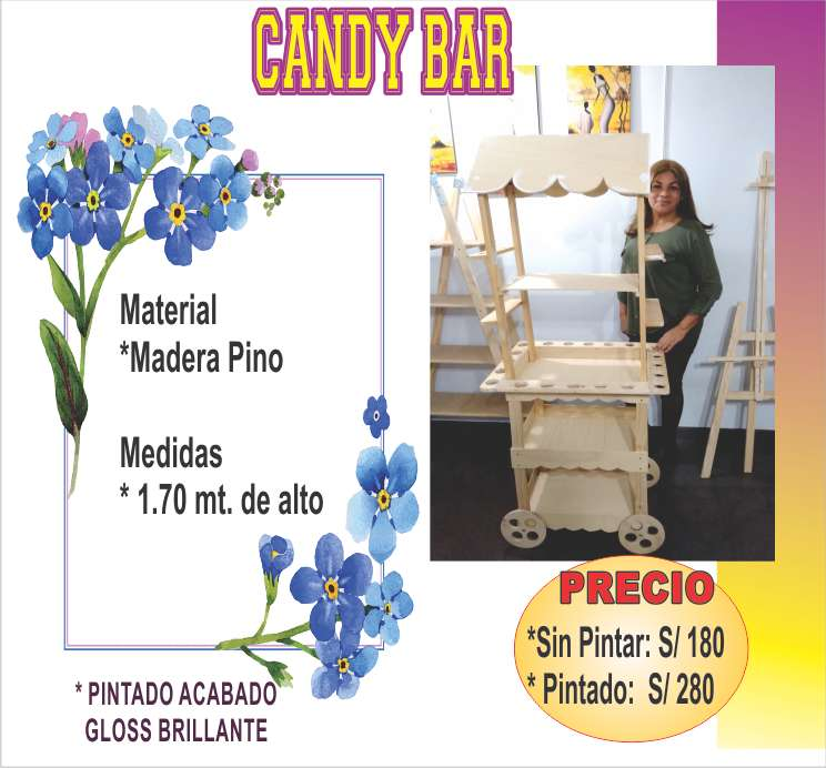 CANDY BAR envios a Provincias
