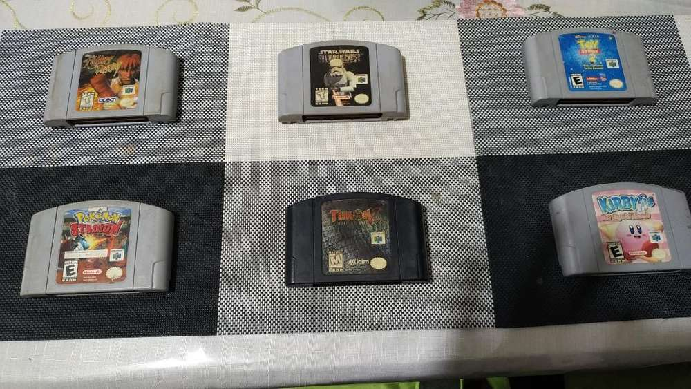Juegos Nintendo 64 Y Super