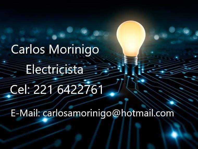 Electricista La Plata. Contacto 221 6422761
