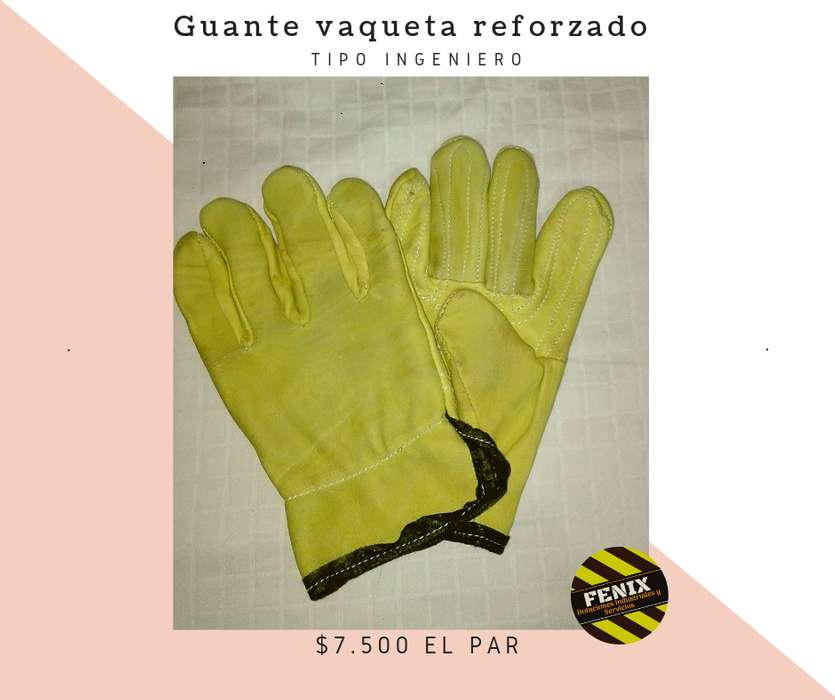 Guante Vaqueta