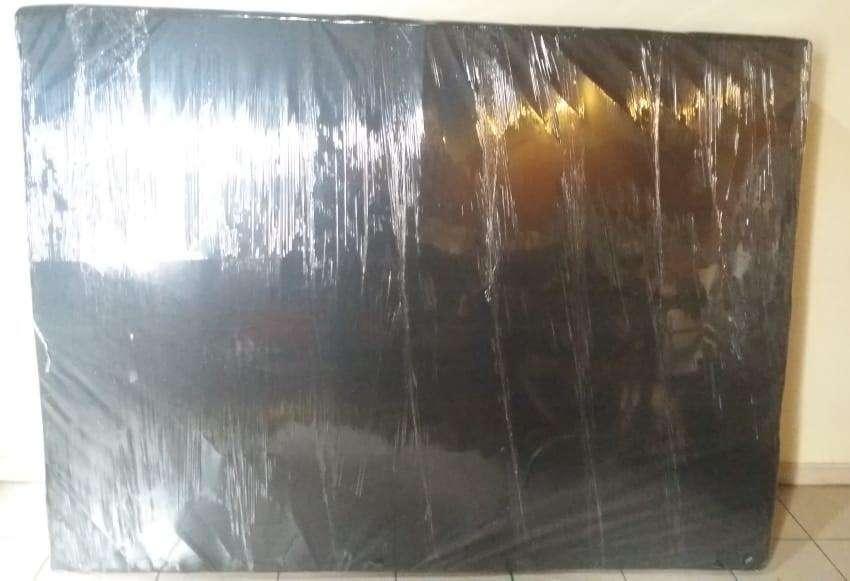 base somier 2 1/2 nueva color negro 2700