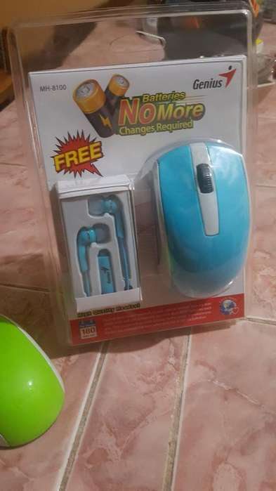 Mouse Inalambrico Marca Genius