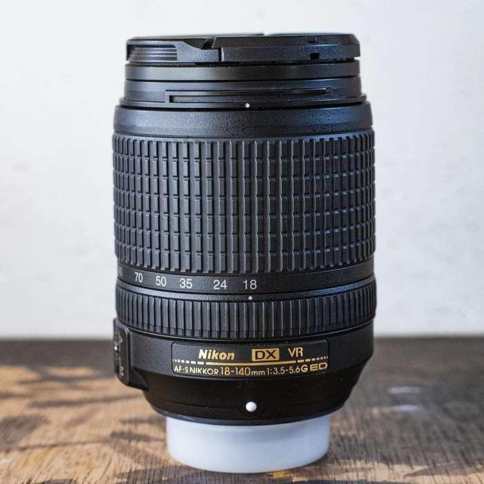 Lente Nikon 18 140 mm VRII NIKKOR