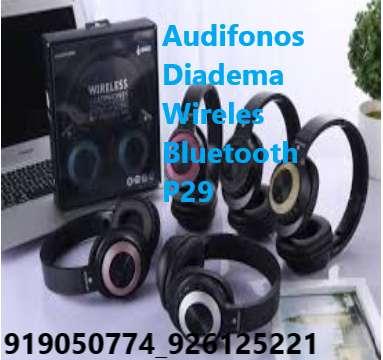 Audifonos Diadema Wireles Bluetooth P29