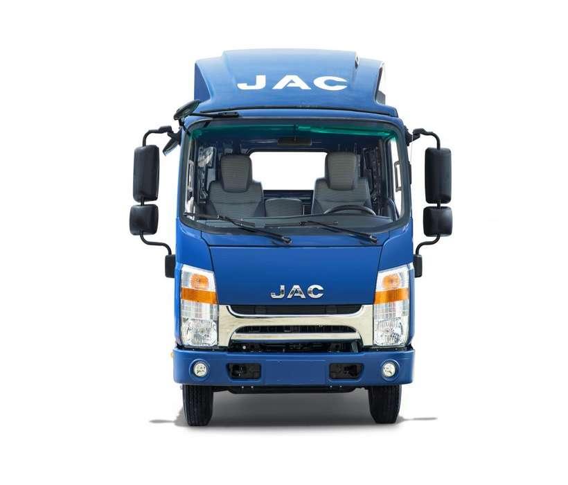 Camión JAC 4 Toneladas con Baranda VIP EURO 4 - D400 BAR VIP E4 - GREEN JET