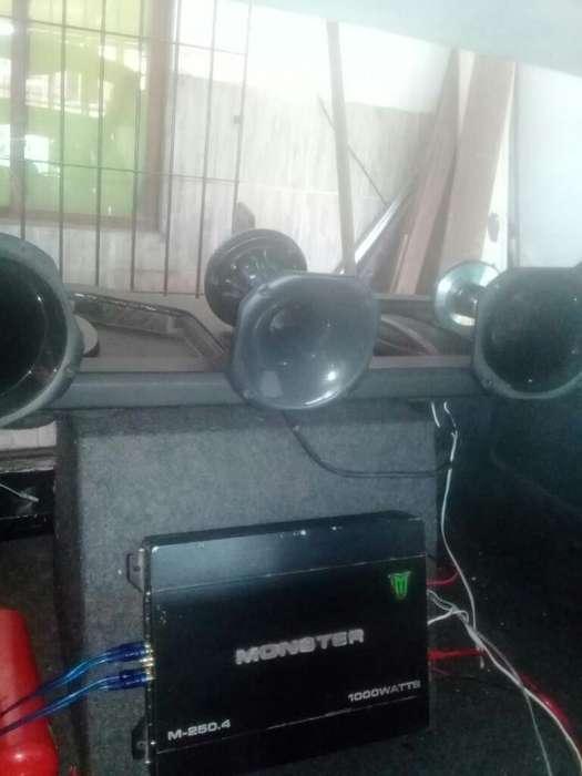 Equipo de Audio para Auto Completo