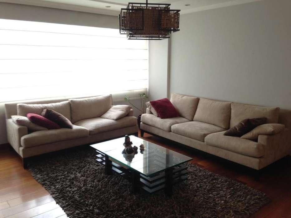 110 m2 amoblado - 2 dormitorios - sector La Coruña - áreas verdes infantiles