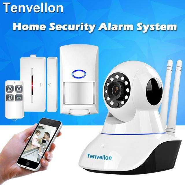 kit alarma con camara robotica seguridad para locales casas