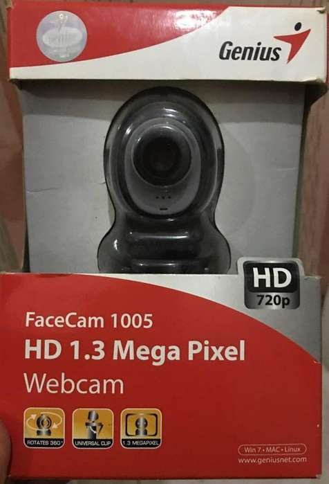 Vendo Camara nueva Facecam 1005 Hd 720P