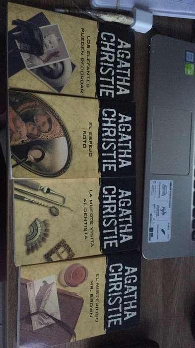 Vendo 4 Libros de Agatha Cristie