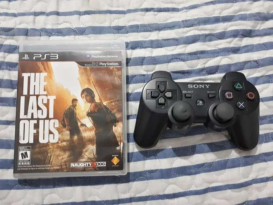 Palanca original para PS3 y The last of us