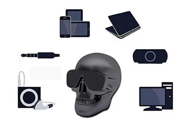 Parlante Bluetooth Calavera Skull