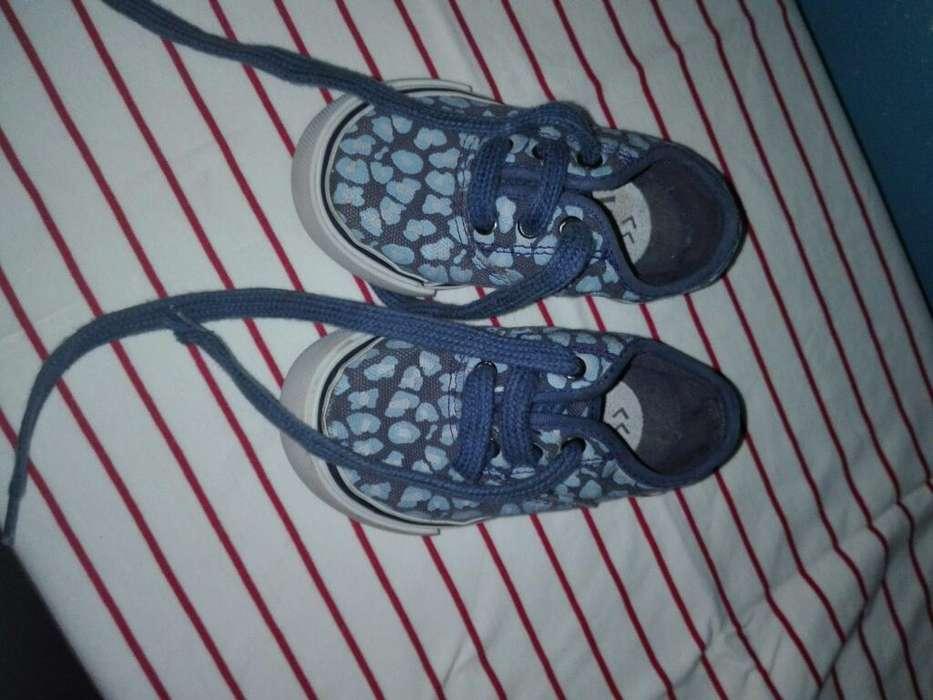 Zapatillas N 21 Usadas Muy Poco