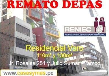 Casas y Mas vende departamento en Huancayo