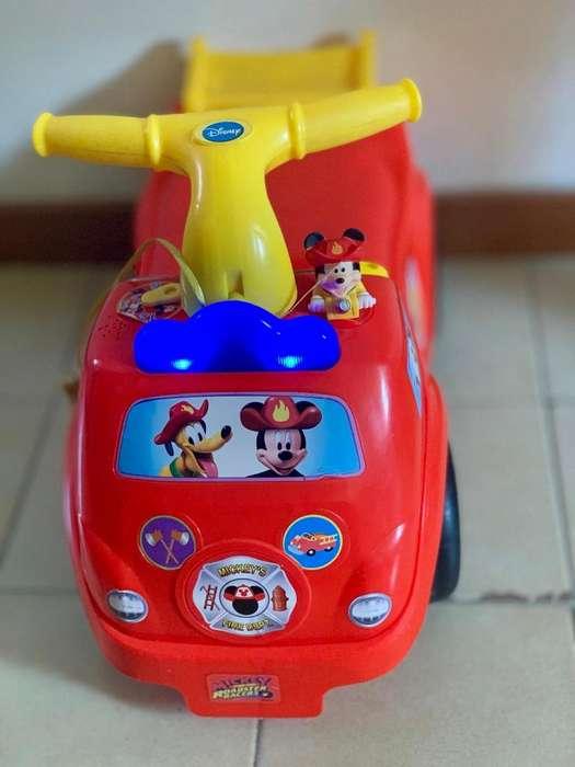Carrito Disney bombero