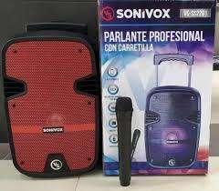 Parlante Profesional Sonivox Vs-ss2281 Con Ruedas