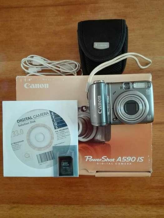 Cámara de Fotos Canon