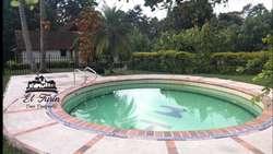 Alquiler de Casa Campestre, para grupos familiares, eventos, etc.