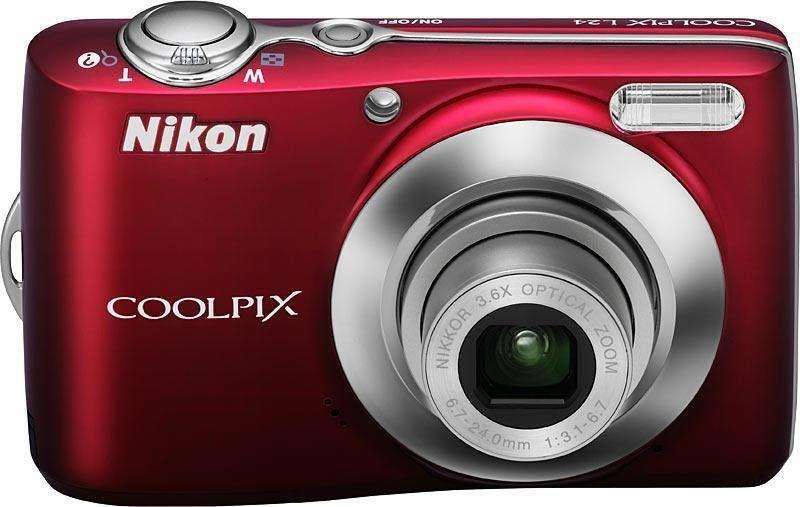 Camara Digital Nikon L24 Como Nueva