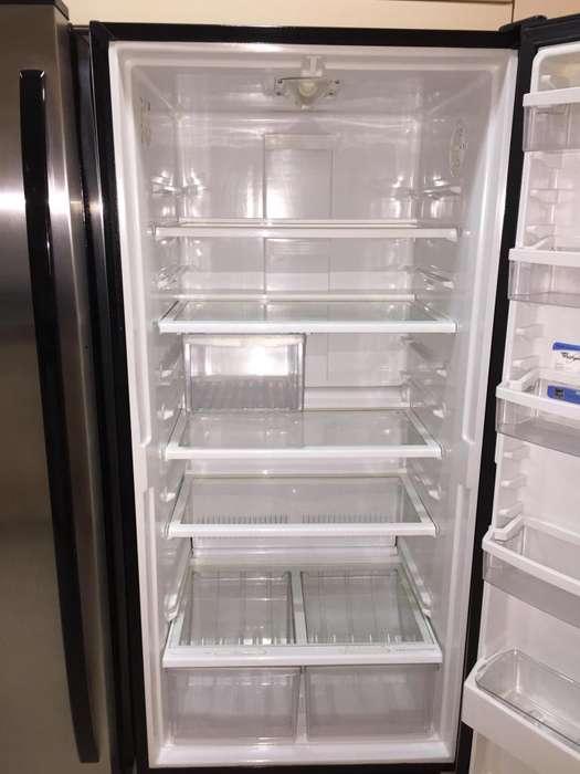 Nevera o Refrigerador Whirpool Sidekicks 500 Litros. Excelente estado 9.5/10