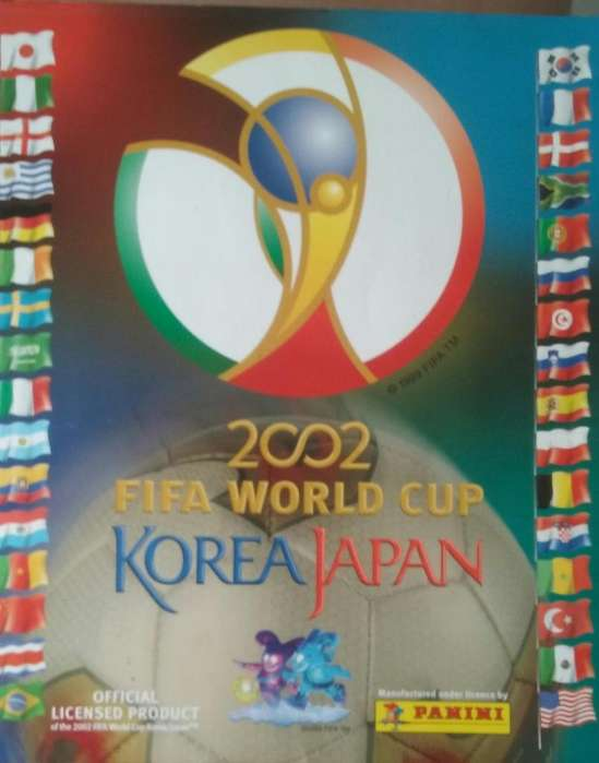 Album Panini Corea-Japon 2002