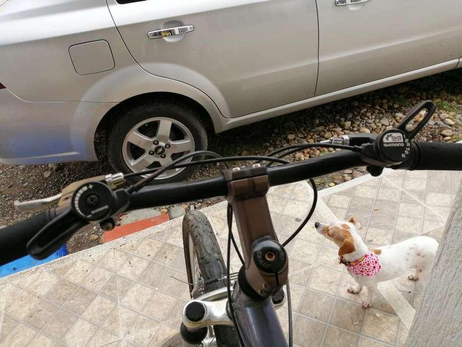 Bici en Aluminio