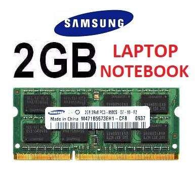 Memoria Ram 2 Gb Para <strong>laptop</strong> Samsung Ddr3 1066mhz Sodimm